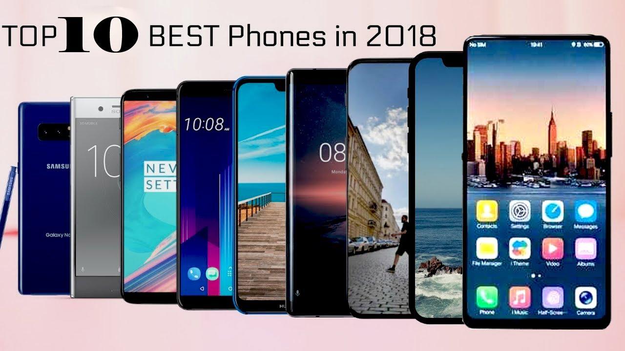 The Best Smartphones 2018
