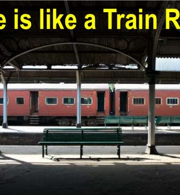 Life is like a Train-Journey