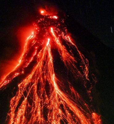 Top 10 world's most dangerous volcano